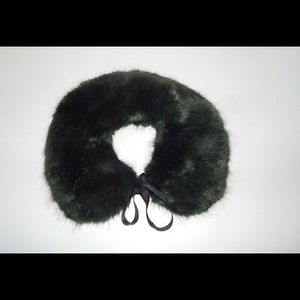 Anthropologie Faux Fur Collar